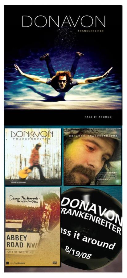 Donavon Frankenreiter New CD Pass It Around Giveaway - Sales