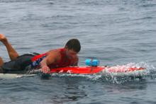 Mike Carr SD Lifeguard wins Catalina Classic Stock Division