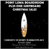 PLUS ONE Surfboard Sale at Point Loma Boardroom