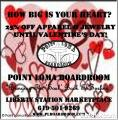 Valentines Day Sale at Point Loma Boardroom 25% off Apparel and Jewelery