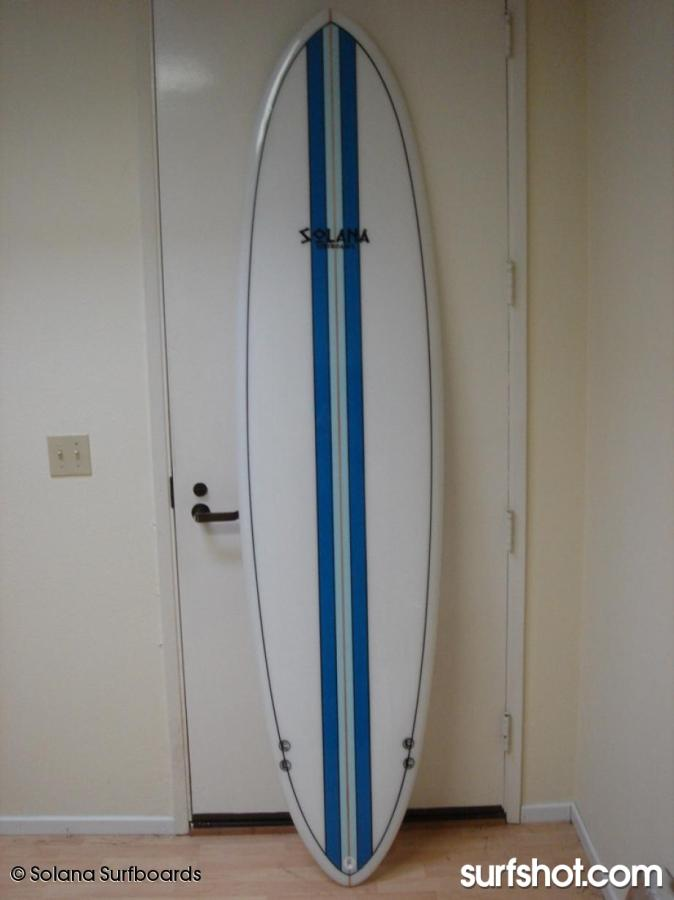 ... Blue Center Funboard Surfboard ... 37d69e8228e2