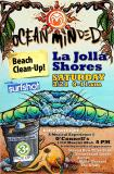 La Jolla Shores Beach Cleanup with Ocean Minded & Surfshot