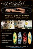 HG Photocloth allows High Quality Graphics for Surfboards