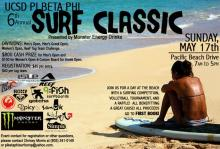 Pi Beta Phi Sorority Surf Classic at Crystal Pier Sunday May 17th