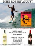Robert August at Crest Liquor Thursday June 18th for Wine Bottle Signing