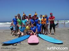 "Surf Diva hosts ""Freedom is Not Free"" Surf Camp"