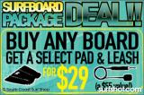 South Coast Surfboard Package Deal In Ocean Beach and Pacific Beach