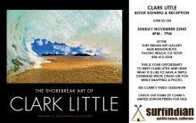 CLARK LITTLE SURF PHOTOGRAPHER AT SURF INDIAN ART GALLERY ON SUNDAY NOV 22ND