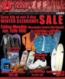 SURF SALE - ZJ Boarding House Huge Winter Sale Starts Friday January 15th