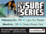 YMCA Surf Series at OB Pier this Saturday March 6th