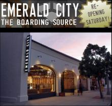 EMERALD CITY SURF SHOP GRAND RE-OPENING
