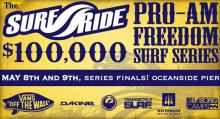 Surfride VANS 100K Freedom Series Completes 1st Season Results