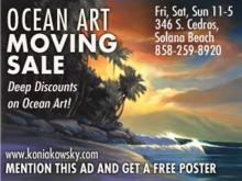 SURF ART - Wade Koniakowsky Ocean Art - MOVING SALE this Weekend