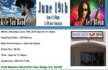 Pacific Beach Surf Shop presents Live Music - Kyle Van and Jeff Bloom on Saturday June 19th