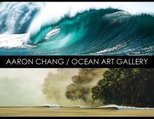 Aaron Chang and Wade Koniakowsky Open the Aaron Chang Ocean Art Gallery in Solana Beach