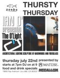 McCallum Surfboards - Ian O - Matuse Wetsuits ART SHOW on Thursday July 22nd at ZENBU