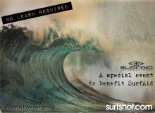 NO LEASH REQUIRED - A Special Event to Benefit SurfAid International