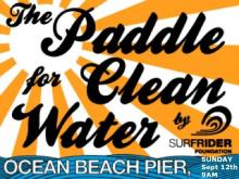 Surfrider Foundation Ocean Beach Annual Pier Paddle Sunday Sept 12th at 9AM