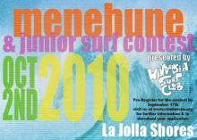 Windansea Surf Club Menehune and Juniors Contest at La Jolla Shore on Oct 2nd