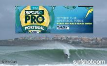 RIP CURL PRO - PINICHE PORTUGAL - WATCH THE WEBCAST OCT 7TH - 18TH