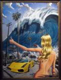 Damien Fulton Art Show at Surf Indian on Saturday December 4th in Pacific Beach