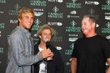 Damien Fahrenfort, Josh Kerr and Rusty Priesendorfer