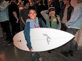Rusty Surfboard Winner from Huntington Beach