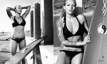 Trisha Lurie Bikini & Surfer Girl