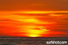 Carlsbad Sunset Colors