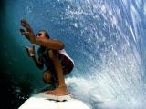John Maher surfing with Go Pro Hero