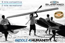 SurfAid Watermans Paddle for Humanity 2011 in Dana Point, California