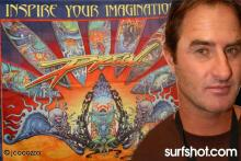 Drew Brophy Surf Artist Graphic by John Cocozza Photography