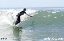 Surfin' on a Foam Board