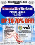 Ocean Beach Surf and Skate Memorial Day Sale!