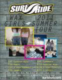 Surf Ride Wax Girls 2011 Summer Tour