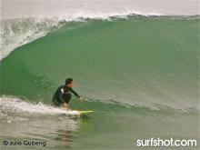 """This is how we do it..!"" San Diego Between Swells-by Julie Quiseng"
