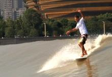 Wingnut Surfing Quintang River