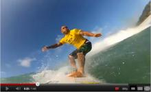 Sunny Garcia Surfs Vans Triple Crown with GoPro HD Hero2