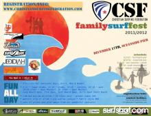 Join the FUN at the CSF Pro-Am Family Comp This Saturday DEC 17th- Oceanside Pier.