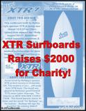 XTR Surfboards Raises $2K for Charity