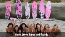 Chick Sticks Performance Surfboards for Girls ~ Find YOUR board at www.chicksticksbylola.com