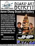 Two legends who have a long history of fellowship in the community collaborate to help Surfaid International as part of the Board Art Benefit Campaign!