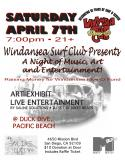 Duck Dive in Pacific Beach hosts Windansea Surf Club Party on April 7th