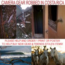 My Cameras, Lenses, Laptop, and Were All Stolen in Costa Rica. Please Help!