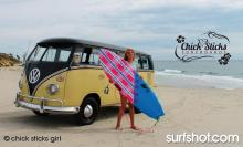 Chick Sticks Girls Surfboards www.chicksticksbylola.com