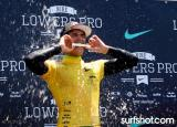 Brazilian Gabriel Medina wins the Nike Lowers Pro 2012