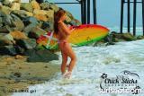 Chick Sticks Girls Surfboards & Body Coral Bikinis Photos: Lola Blake  www.chicksticksbylola.com