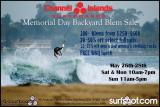 Channel Islands Surfboards Santa Barbara Store - Memorial Day Backyard Blem Sale!