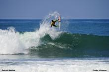 Gabriel Medina on his way to victory at the 2012 ASP PRIME Nike Lowers Pro.