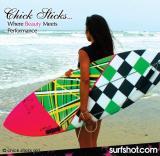 Chick Sticks Hoochie Mod 5 Fin Option Performance Egg.  Find it at www.chicksticksbylola.com